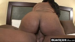 Ebony Giselle Jessena is too much for her fucker Thumb