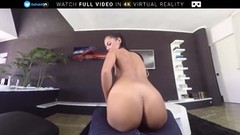 VR Porn Teen Strips down and Gets Assfucked On BaDoink VR Thumb
