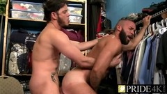 Bearded dude gets fucks in the asshole by workmate Thumb