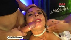 Mature MILF Sexy Susi gets her huge tits Creamed Thumb