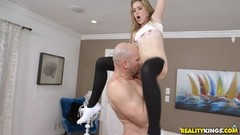 Kinky Lily Ford eaten out and fucked by monster cock Thumb