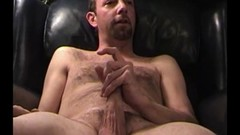 Cock Beating Mature Amateur John Jerking Off Thumb