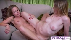 Intimate Lesbians - Riley and April cum hard for you Thumb