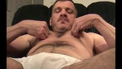 Mature Amateur Geoff Jerking Off Thumb