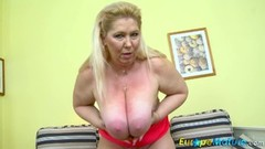 Czech Mature Star Solo with big boobs Thumb