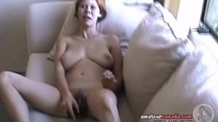 Wife plays with her hot pussy Thumb