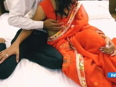 Indian couple first night/ desi honeymoon hot/ virgin teen Thumb