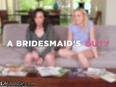 AllGirlMassage Bride Melts Down (In her Besties Pussy) Thumb