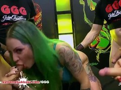 Phoenix Madina had a blowbang and bukkake cumshots Germangoogirls Thumb