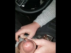 Cheating wifes 2nd tinder car blowjob part 1 Thumb