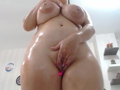 Awesome Wet Chubby Huge Boobs Squirting Camgirl Thumb