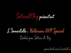 Immortal Queen demands her sexual offering - Satine&Big's Halloween Special Thumb