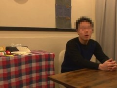 Japanese wife cheating with her colleague after party Thumb