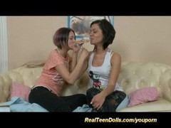 young lesbian anal strapon Thumb