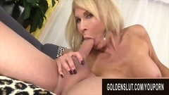Golden Slut - Amazing Granny Erica Lauren Compilation Part 3 Thumb