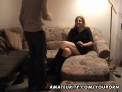 Young amateur couple homemade fuck with cumshot Thumb