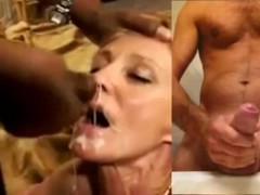 HYPNO#2 Cuck wife swallows / Hubby jerk off Thumb