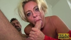 Sexy Throated submissive milf gets plowed Thumb