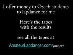 Lapdance and facial with cute czech teen Thumb