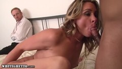 Sexy Babe Deeply Fucked Hard By BBC While Cuckold Husband's Watching Thumb