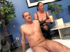 Hot wax play with the MILF - SMALL TALK Thumb