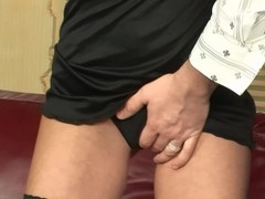 Busty blonde is addicted to cock - Playvision Thumb
