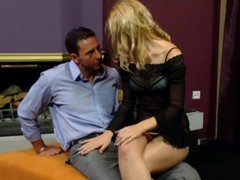Horny milf fucks her husband as soon as he gets home - Playvision Thumb