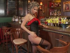 The barmaid got horny at her work - Playvision Thumb
