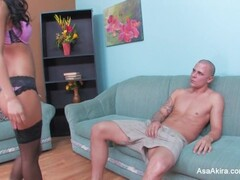 Asa Gets Pounded Thumb