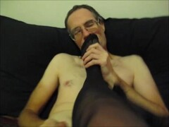 Dirty Talking Stocking Feet Licking Fun Thumb