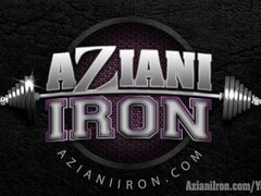 Aziani Iron muscle MILF pumps her clit Thumb