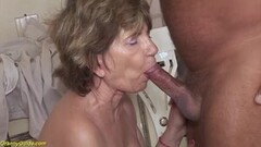 Hot 79 years old mom anal with stepson Thumb