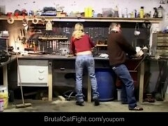 Two blondes fights at work –the engineer fucks the loser Thumb