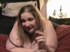 BBW wife rides cock on hidden cam Thumb