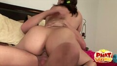 Phat Ass Gracie Glam Bouncing Up and Down Thumb