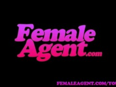FemaleAgent Horny stud wants to finish on sexy agents amazing tits Thumb