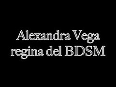 Alexandra Vega Italian Trans gives BDSM instructions Thumb