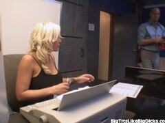 Busty Secretary Fucks A Co-worker Thumb