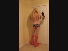 blonde whore in fuck me boots Thumb