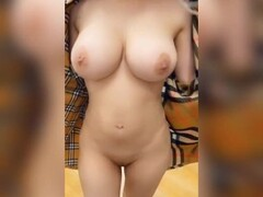 Hot girl with amazing tits naked in store Thumb