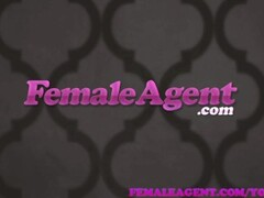 FemaleAgent MILF agent filled with pleasure as studs shyness evaporates Thumb