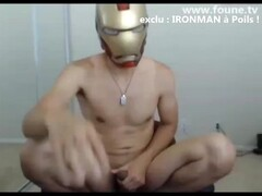 Ironman nude masturbation on webcam Thumb
