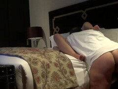 Couple caught hotel room by hidden cam Thumb