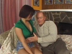 Old Dick Penetrates Young Pussy - Scene 2 - CRITICAL X Thumb