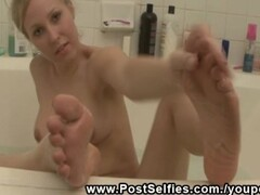 Sexy Babe Rachel Shows Naked In The Bathroom Thumb