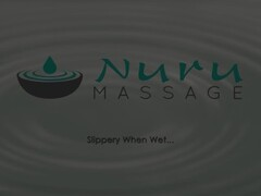 NuruMassage Asian Masseuse Gives Oily Cock Massage with Pussy Thumb