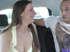 Glam mature in stockings facialized Thumb