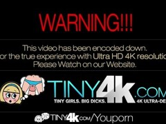 4K HD - Tiny4K Alex Little shakes her tiny butt in white panties Thumb