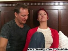 Amateur girlfriend gets fucked twice with facial cumshot Thumb