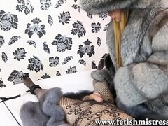 Fur Fetish Sissy Tormented Thumb